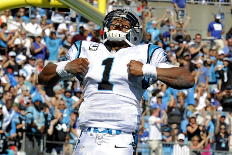 #1 QB Cam Newton – Carolina Panthers