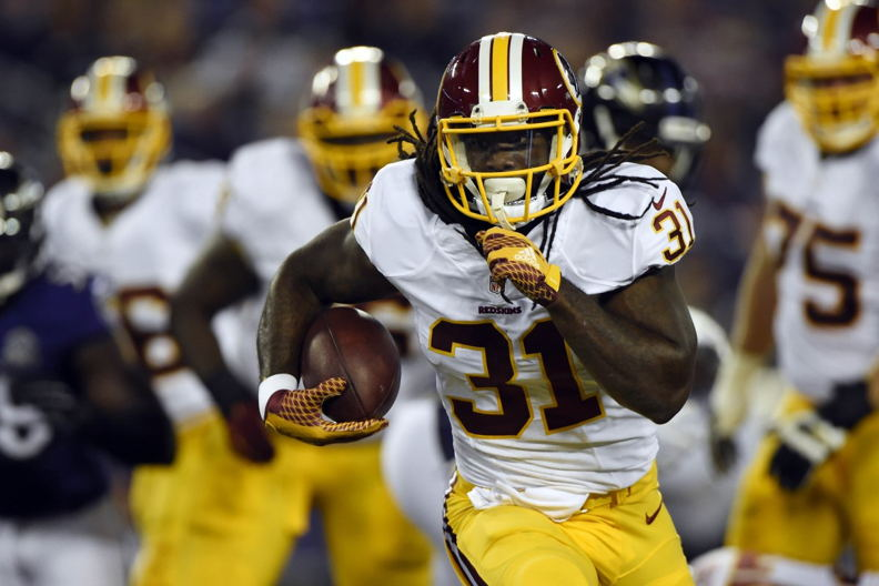 #1 RB Matt Jones – Washington Redskins