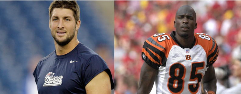 Honourable Mention - Chad Johnson & Tim Tebow